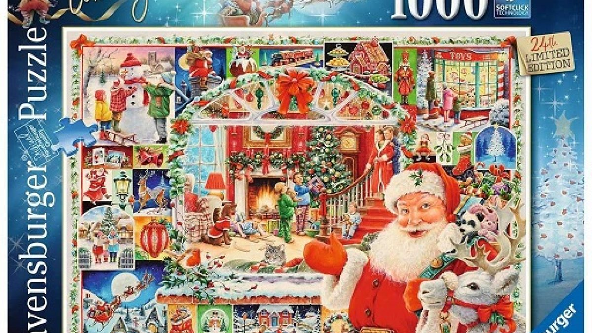 Ravensburger Christmas Puzzle 2021 Ravensburger Christmas Is Coming Limited Edition 1000 Piece Puzzle The Puzzle Collections